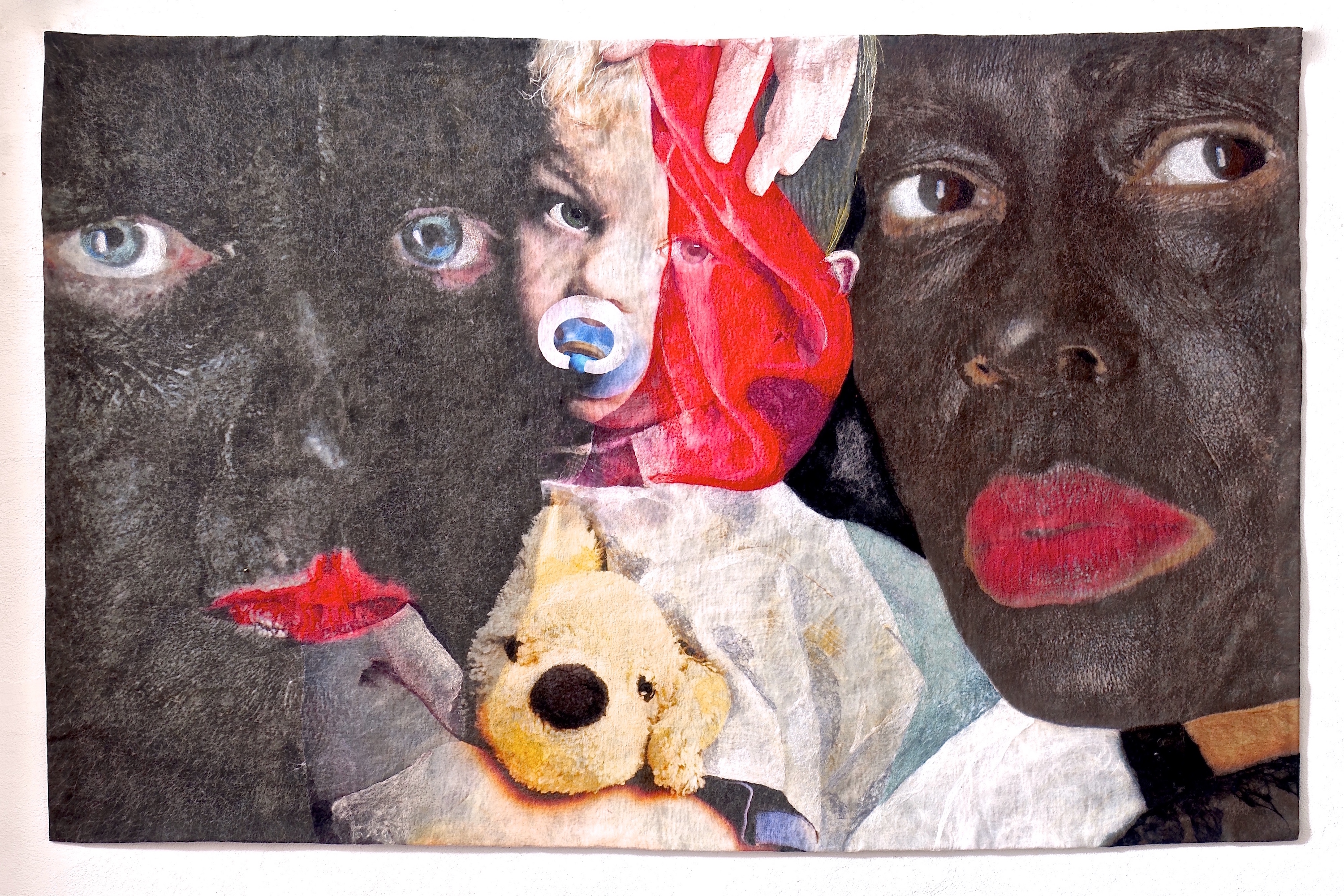 Inspired by an interview with a Dutch parent who defended the practice of 'blacking up' as Zwarte Piet as a great way for young white children to get used to black people!<br />