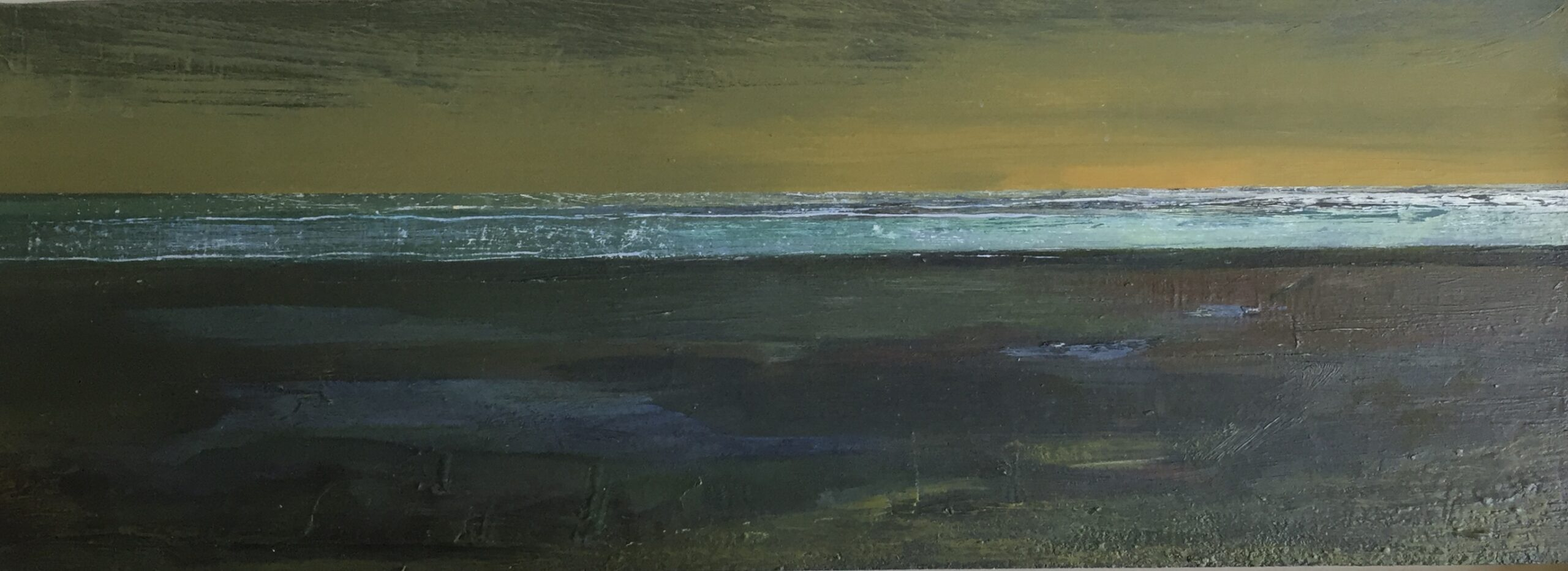 Oil on board<br />